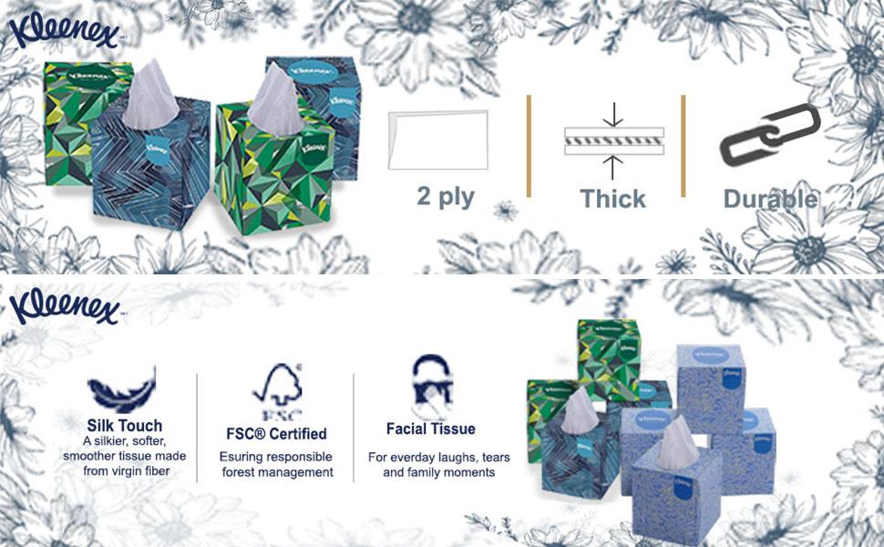 Kleenex certification and attributes