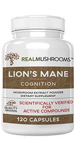 real mushrooms lion's mane extract