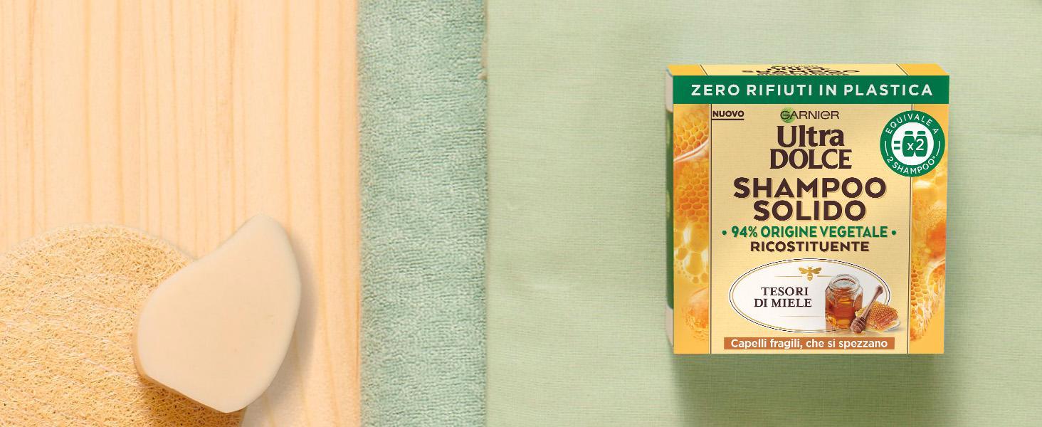 Shampoo solido Tesori di miele