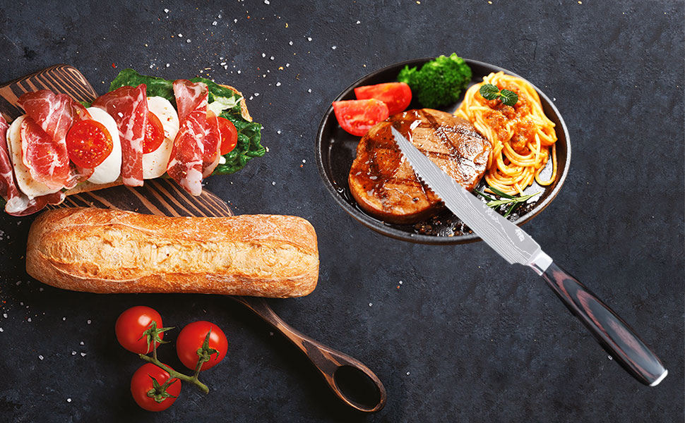 Steak knife meets daily needs, is the best choice for restaurants and meal