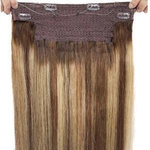 brown to honey blonde caramel highlights halo hair extensions human hair