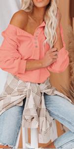 Womens Loose Sweatshirt Long Sleeve