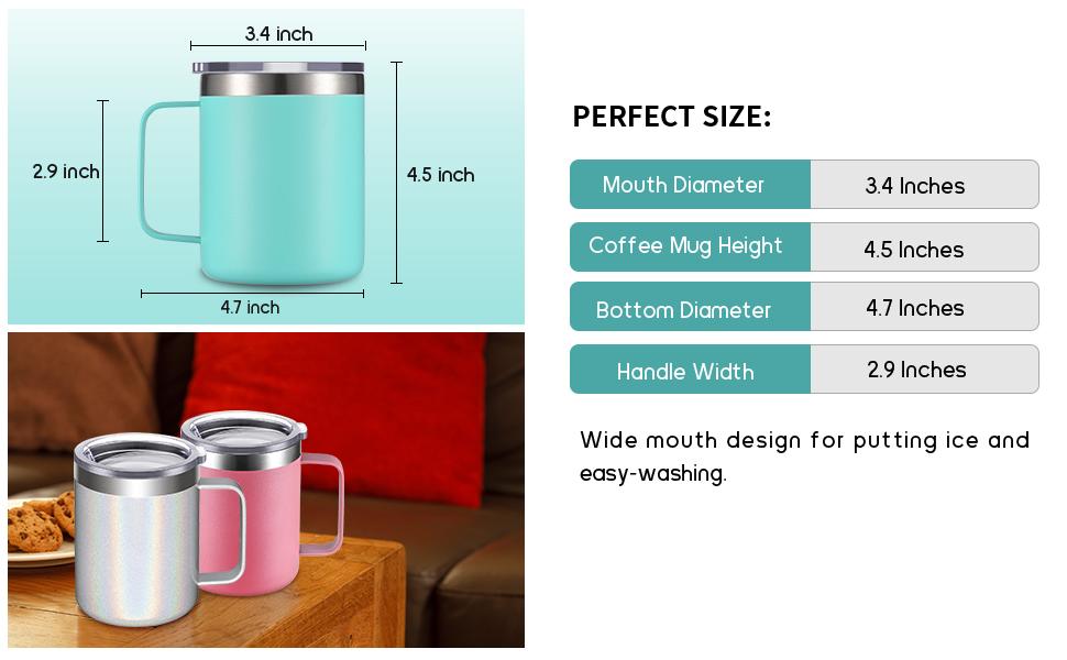 MEASUREMENT OF COFFEE MUG