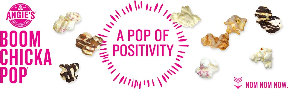 A Pop of Positivity with Angie's BOOMCHICAKPOP Kettle Corn Popcorn