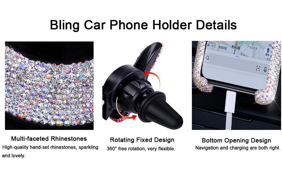 Bling Car Phone Holder