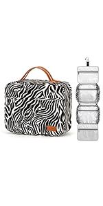 Zebra Pattern Travel Bag