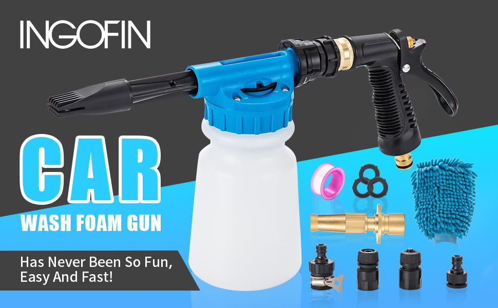 INGOFIN CAR WASH FOAM GUN
