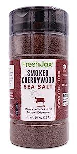FreshJax Smoked Cherrywood Sea Salt