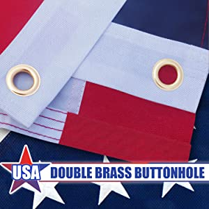 Double brass buckle