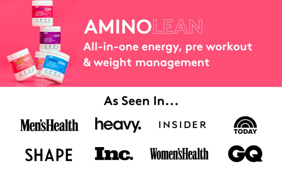 AminoLean All In One Energy, Preworkout, and Weight Management