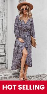 V-Neck Maxi Dresses