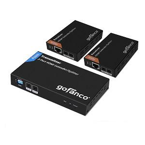 hdmi extender splitter 2 port loop out ir control ethernet extension cable adapter adaptor extensor