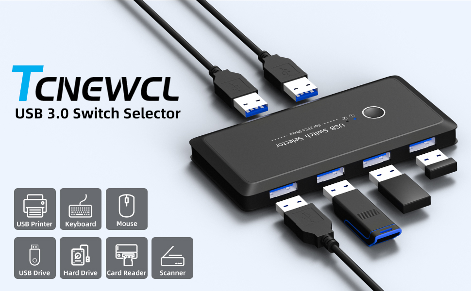 USB switch selector