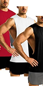 Workout sleeveless shirts for men