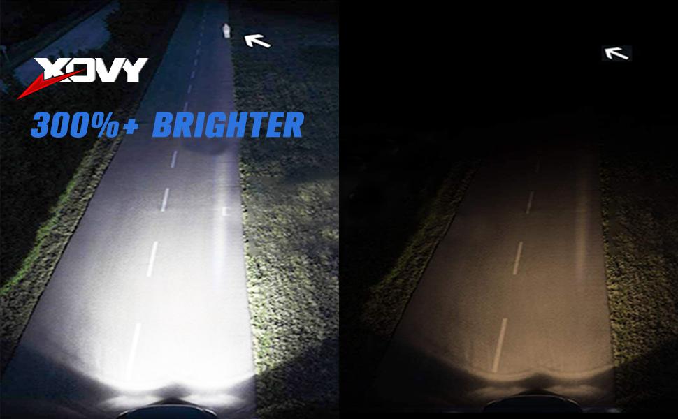 XOVY 9005/HB3 LED Headlight Kit