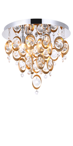Crystal wall porch lights antique copper crystal raindrop
