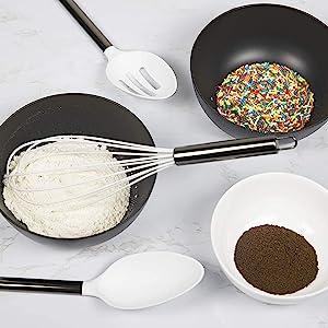 whisk and utensils