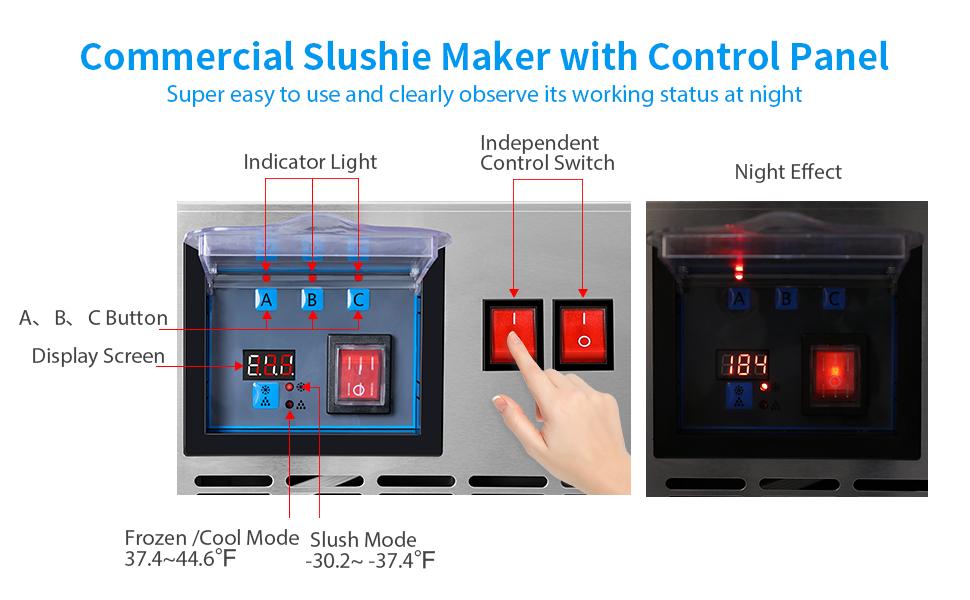 Commercial Slushy Machine