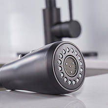 Easy clean rubber nozzle