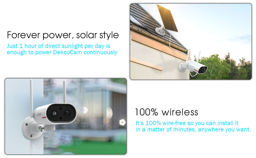 security cameras outdoor wireless with night vision and audio home security system