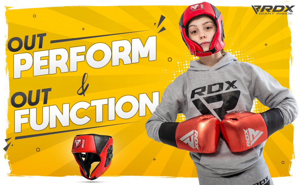 RDX Kids Headgear for Boxing, MMA Training and Kickboxing