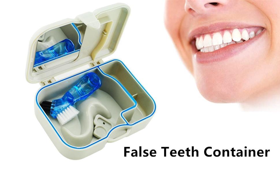 False Teeth Storage
