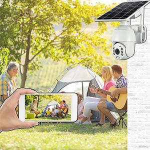 Wireless Solar Security Camera