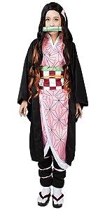 Kamado Nezuko Cosplay Costume