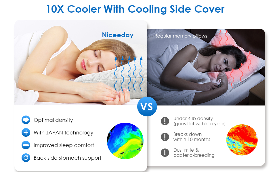 cooling bed pillow