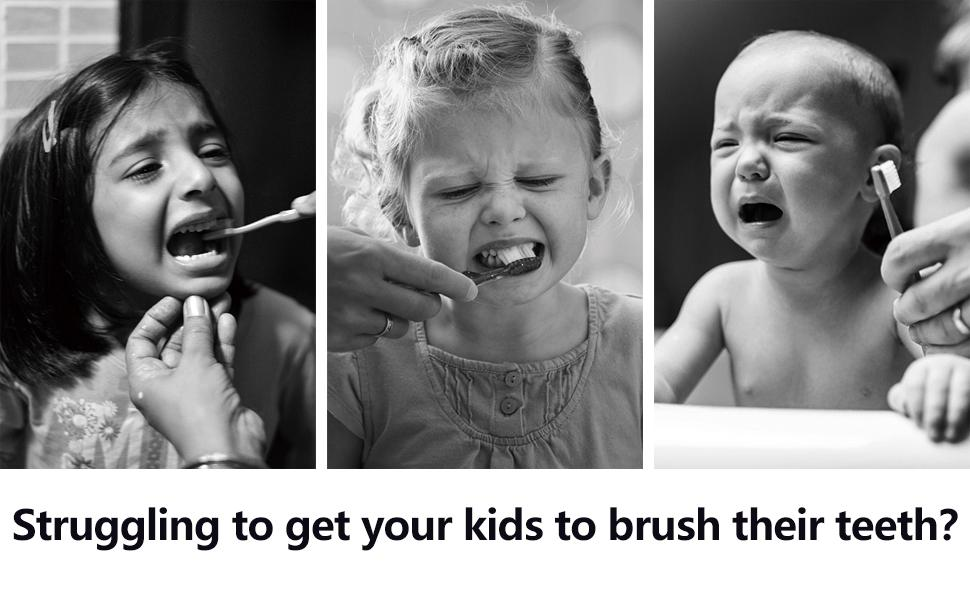 Struggling to get your kids to brush their teeth