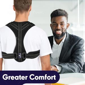 Comfortable Back Neck Shoulder Supports Shoulder Brace back posture corrector postual corrector