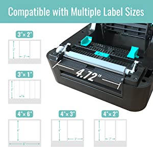 label printer for shipping packages wireless printers for home use small printer