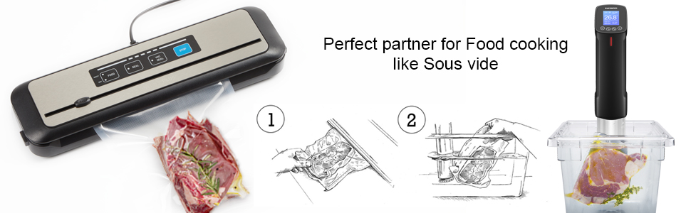 Perfect partner for Food cooking like Sous vide