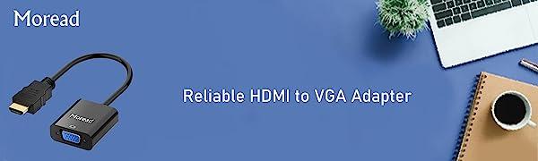 Moread HDMI to VGA Adapter