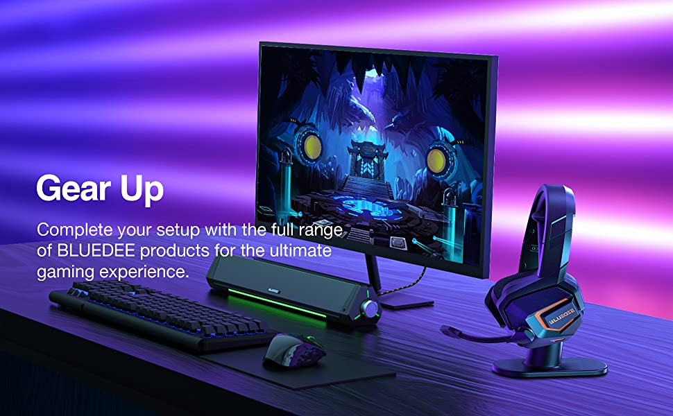 Complete your setup with the full range of BLUEDEE products for the ultimate gaming experience.