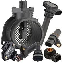 Bosch Engine Management - Mass Air Flow Sensors, Cam and Crank Position Sensors, Knock Sensors