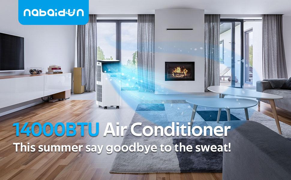 Portable Air Conditioner for Room Dehumidifier 14000BTU Portable Air Conditioning for Bedroom