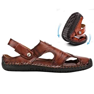 Soft Durable Rubber Sole Outdoor Sandals