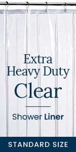 Heavy Duty Clear Shower Liner