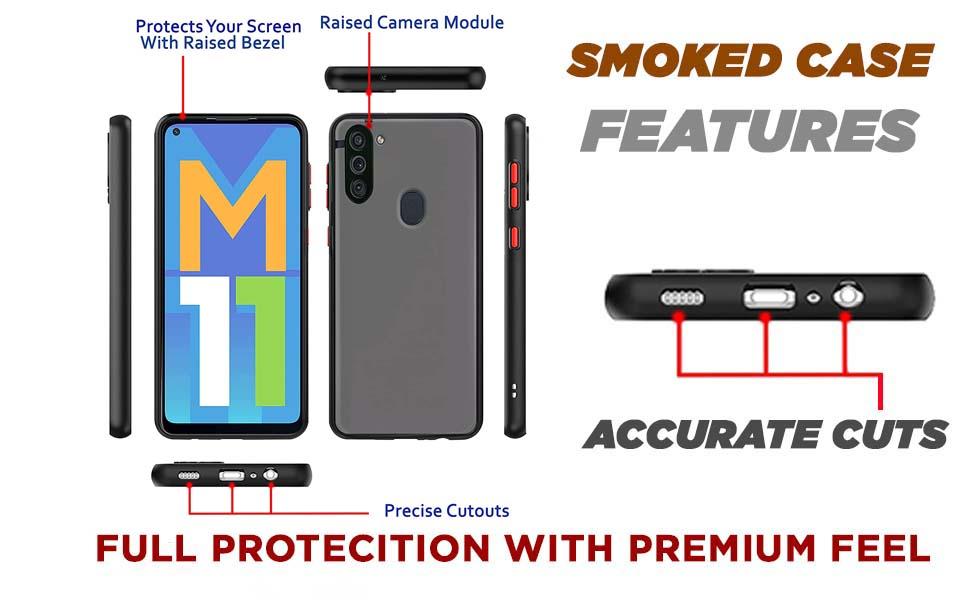 Samsung M11 Back Case