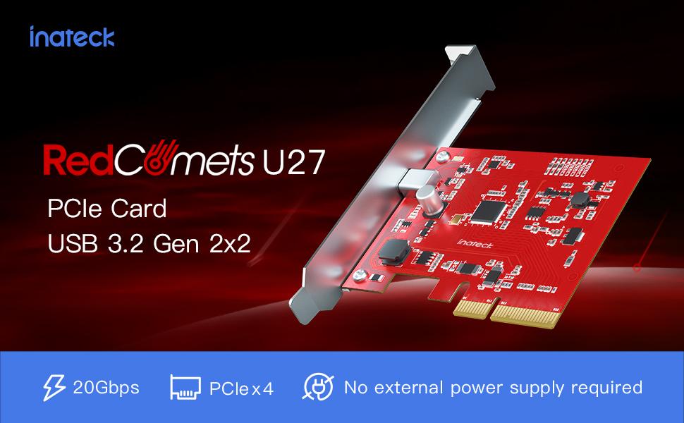 PCIe usb 3.2 card