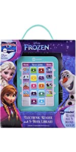 Disney - Frozen Me Reader Electronic Reader and 8-Sound Book