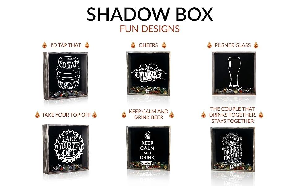 Fun Design Gray Shadow Box