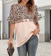 Womenamp;amp;#39;s Leopard T-Shirts