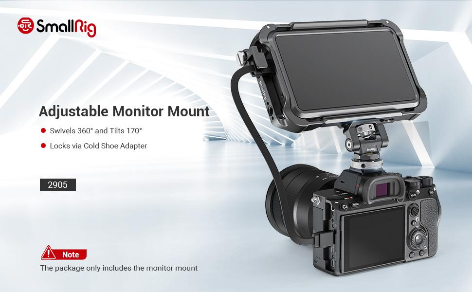 SMALLRIG Monitor Mount Supporto 2905