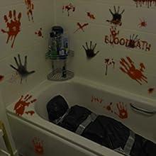 Bloodstains Bathroom Decals