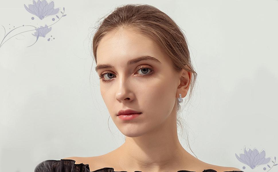 black earrings for girls