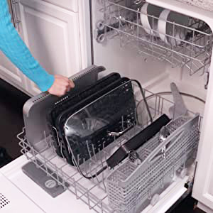 Dishwasher Safety Easy Clean-up & Faster Prep