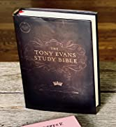 CSB Tony Evans Study Bible, Hardcover, Black Letter, Study Notes and Commentary, Articles, Videos...