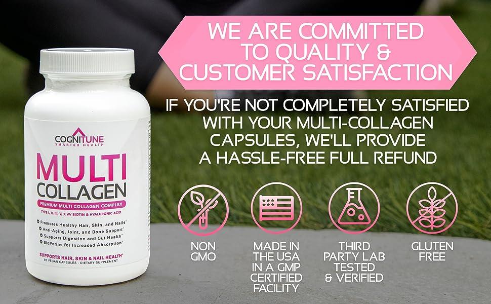 Focused on Quality.  Non-GMO, Gluten Free, Zero Carbs, Made in USA